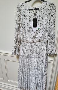 NWT Emporio Armani Long Off-White Dress